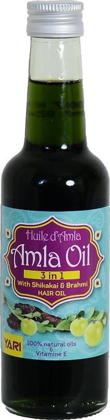 Yari 100% 3-1 Amla Oil with Shikakai & Brahmi Hair Oil 250ml