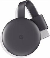 Afbeelding van Google Chromecast 3 - HDMI Dongle - Full HD - Mediaplayer - Smart TV stick - TV screencast mirror - 1080 P - Airplay