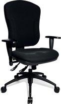 Bureaustoel - Met Armleuning - Stof - Zwart - Wellpoint 30 K2