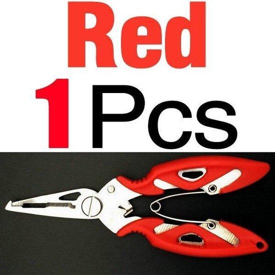 rode onthaaktang voor vis - vis tang - onthaker - vissen - voor snoek - baars - karper - steur - meerval