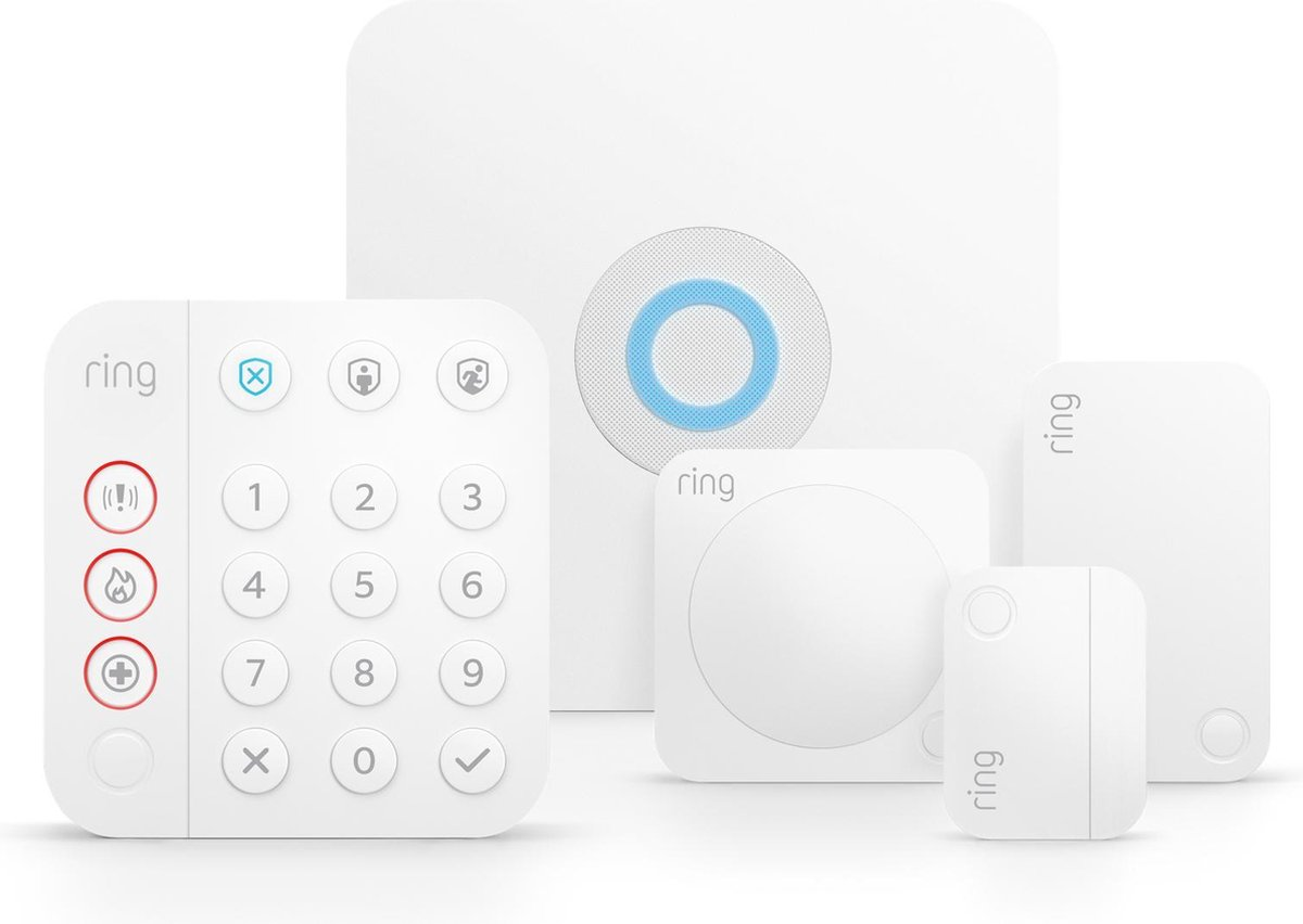 Ring Alarm 5-delig Alarmsysteem - 2e generatie - Wit