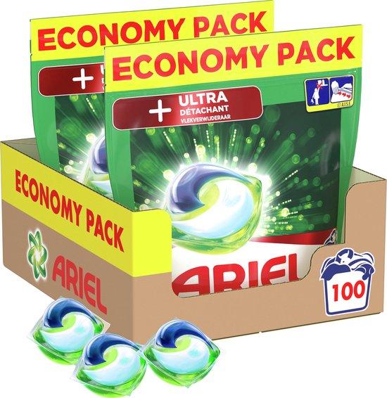 Ariel Allin1 Pods +Ultra Wasmiddel - Voordeelverpakking 2 x 50 Wasbeurten - Wasmiddel Pods