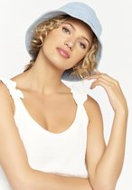 Denim bucket hat - Light Blauw