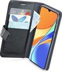 Azuri walletcase - magnetic closure & 3 cardslots - Xiaomi Redmi 9C - Zwart