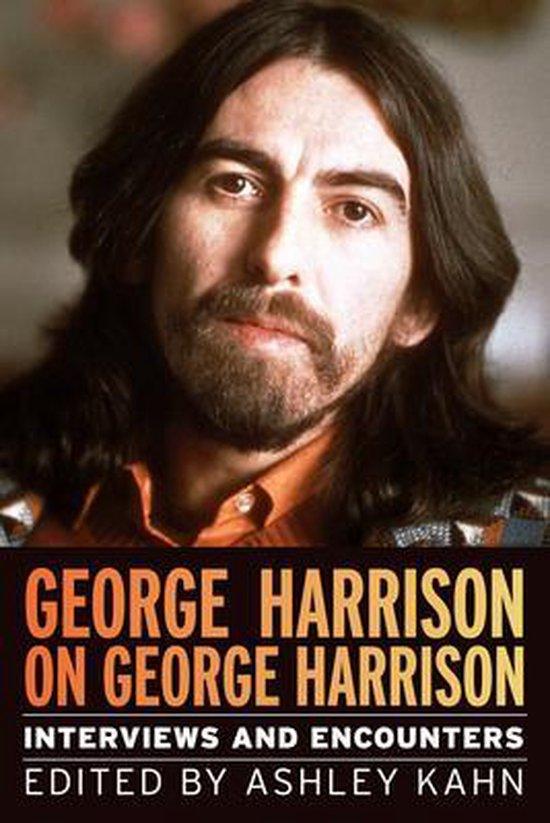 Boek cover George Harrison on George Harrison van Ashley Kahn (Paperback)