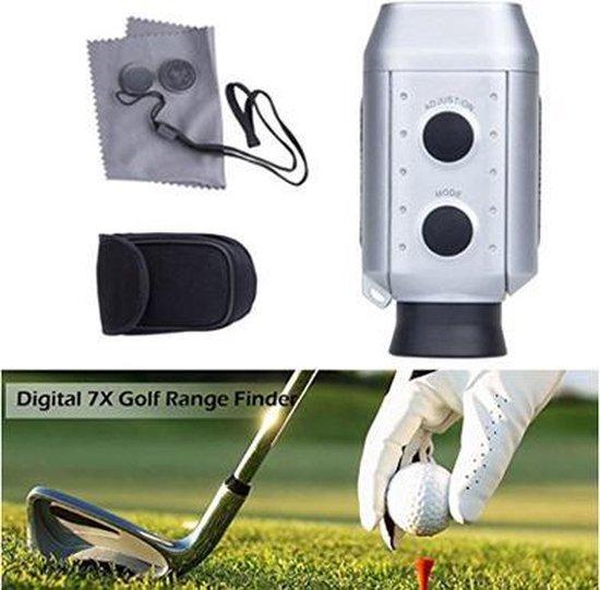 Golf - rangefinder - 7x digitale zoom - afstandmeter - 1000 yards - afstand bepalen - hoogte bepalen