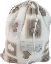 Katoenen waszak -XL - met trekkoord - Verona- Jersey Cotton
