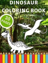 Dinosaur Coloring Book For Kids 3-6