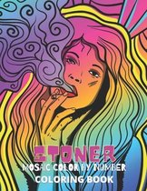 Stoner Mosaic Color By Number Coloring Book