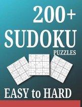 200+ Sudoku Puzzles Easy to Hard