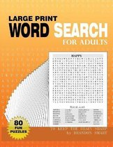 Large Print Word Search for Adults