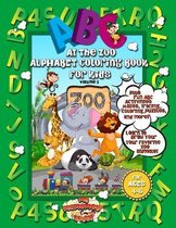 ABC At The Zoo Alphabet Coloring Book For Kids