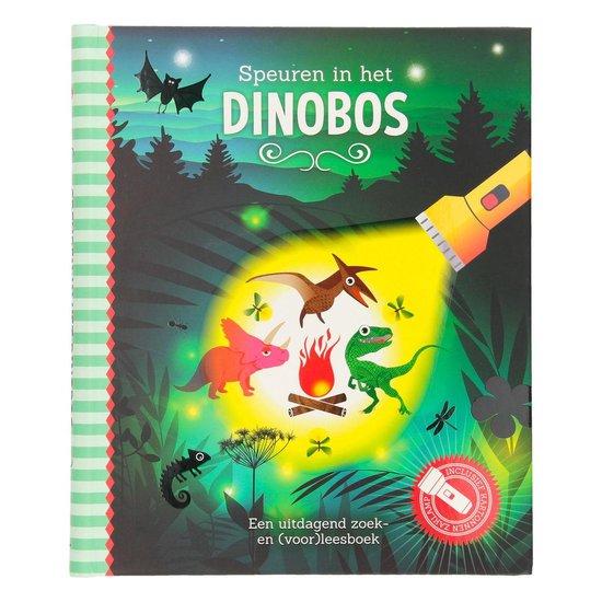 Boek cover Speuren in het Dinobos van Studio Stampij (Hardcover)
