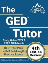 The GED Tutor Study Guide 2021 and 2022 All Subjects