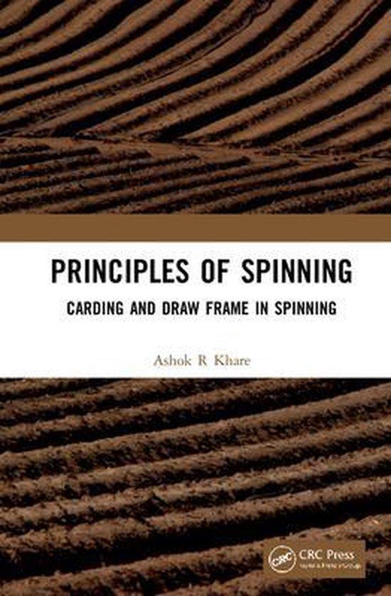 Boek cover Principles of Spinning van Ashok R. Khare (Hardcover)