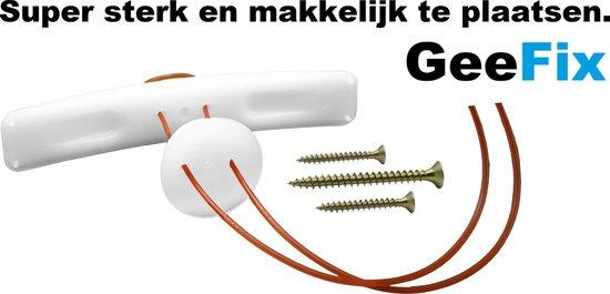 GeeFix hollewandplug 4pack gipsplaat