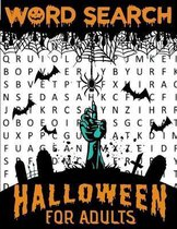 Word Search Halloween For Adults