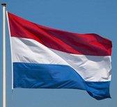 Vlaggenset Nederlandse vlag compleet met aluminium vlaggenstok