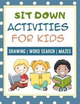 Sit Down Activities For Kids