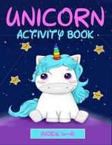 Unicorn Activity Book - ages 4-8