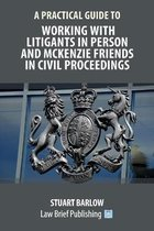 A Practical Guide to Working With Litigants in Person and McKenzie Friends in Civil Proceedings