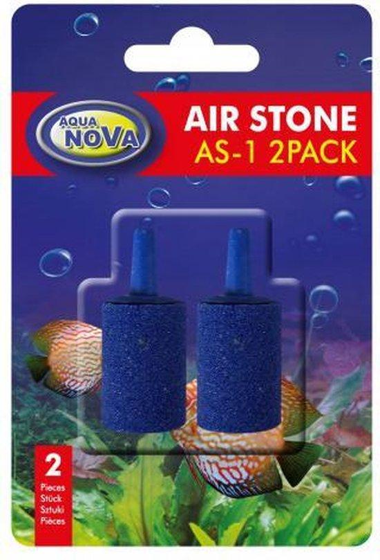 Aqua Nova - Aquarium beluchting - Luchtsteen 15x25 mm - 2 stk