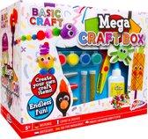 ToyzCreative - Mega Knutselkoffer - Knutselen Jongens - Knutselen Meisjes - Knutselpakket - 1000 verschillende knutselspullen