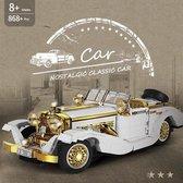 Mercedes Benz K500 Special Roadster Classic Car Bouwpakket -  Creator - Technic - Oldtimer - 868 Bouwstenen - Toy Brick Lighting®