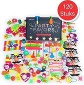 Uitdeelcadeautjes kinderen 120 stuks - Grabbelton - Traktatie box - Klein Speelgoed - Pinata vulling