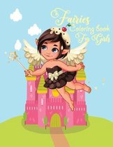 Fairies coloring book for girls