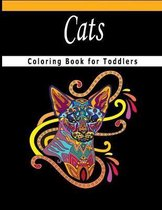 Cats Coloring Book for Toddlers: Adorable Cats: Cats Coloring Book