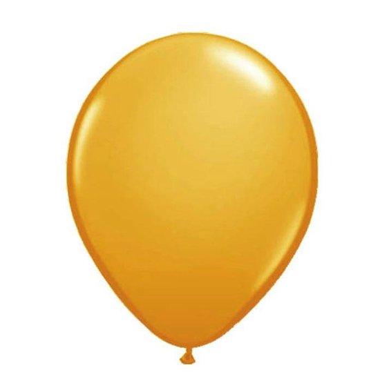 Oranje ballonnen - 10 stuks - versiering - EK - WK - voetbal - koningsdag - verjaardag - 23cm