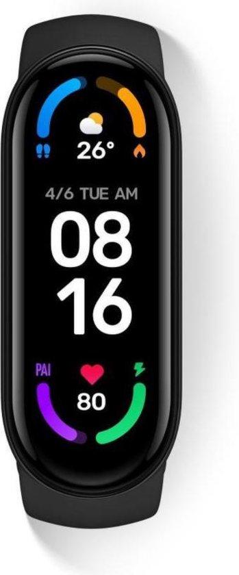 Nieuw! - M6 Activitytracker - Smartwatch - Smartband - Stappenteller - Sporthorloge - Hardloop armband - Nederlandse Handleiding! (KLEUR GEEL)