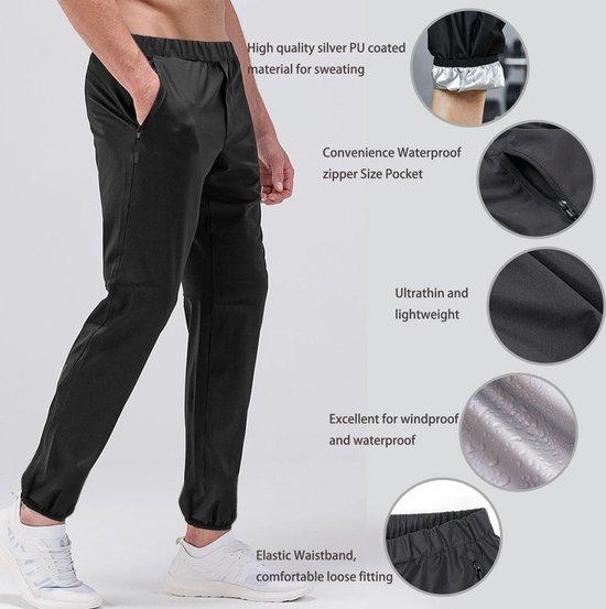SHAKEX® - Zweetpak - Saunapak - Sweatsuit - Saunasuit - Gewichtsverlies - Afvallen - Cardio - Medium