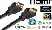 HDMI Kabel - 5 meter - Zwart - High Speed (TV - PC - Laptop - Beamer - PS3 - PS4 - Xbox)