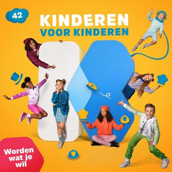 CD cover van Deel 42 - Worden Wat Je Wil van Kinderen voor Kinderen
