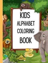 Kids Alphabet Coloring Book