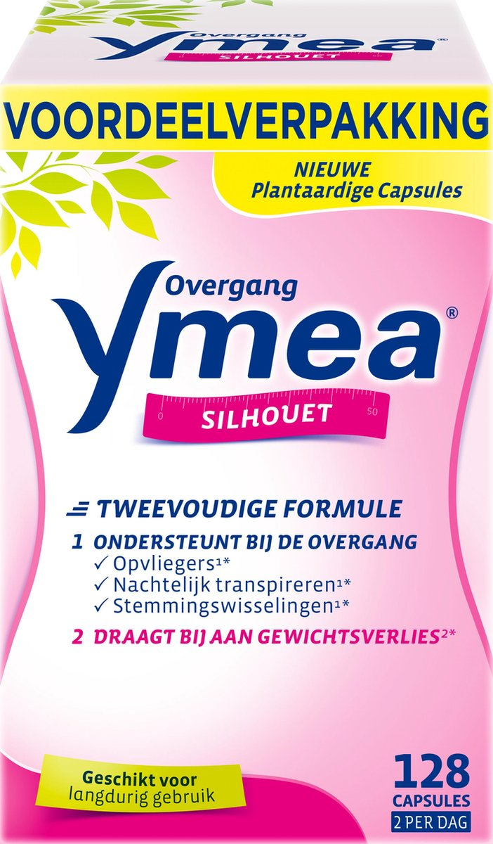 Ymea Overgang Silhouet   Overgang tabletten   Overgang producten - Voedingssupplement   128 capsules
