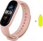 Smartwatch Dames-Smartwatch Stappenteller -Sport horloge -Smartwatch Heren- Smartwatch Kinderen-Activity Tracker -Bloeddrukmeter - Hartslagmeter - Afstandmeter- Calorieënteller-Fitness Tracker- Screenprotector-Alternatieve Fitbit- IOS & Android- Roze