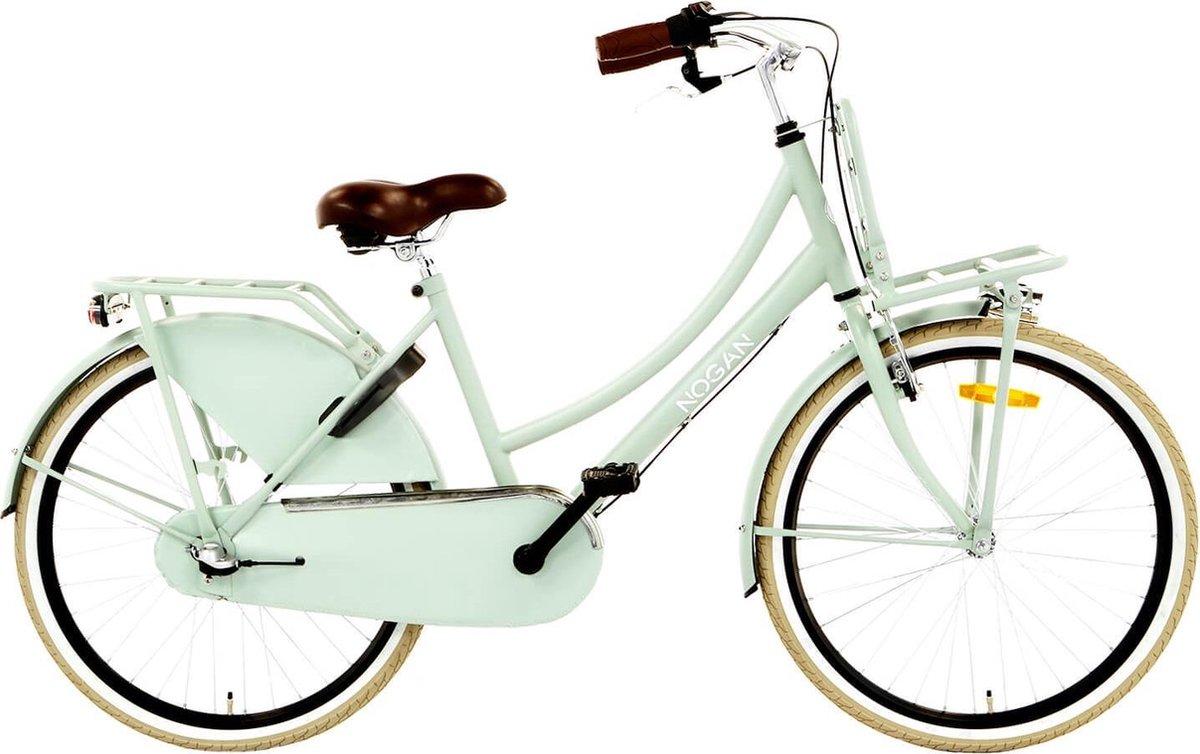Nogan Vintage N3 Transportfiets - Meisjes - Oslo Green - 24 inch
