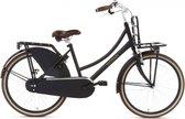 Nogan Vintage Transportfiets - Meisjes - Matt Black - 24 inch