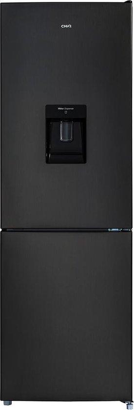 Koelkast met vriesvak: CHiQ FBM228NE4D - Koel-vriescombinatie - Waterdispenser - Donker RVS, van het merk chiq