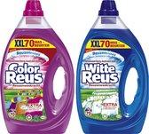 Color Reus + Witte Reus XXL 2x 70 wasbeurten Reuzenfrisheid