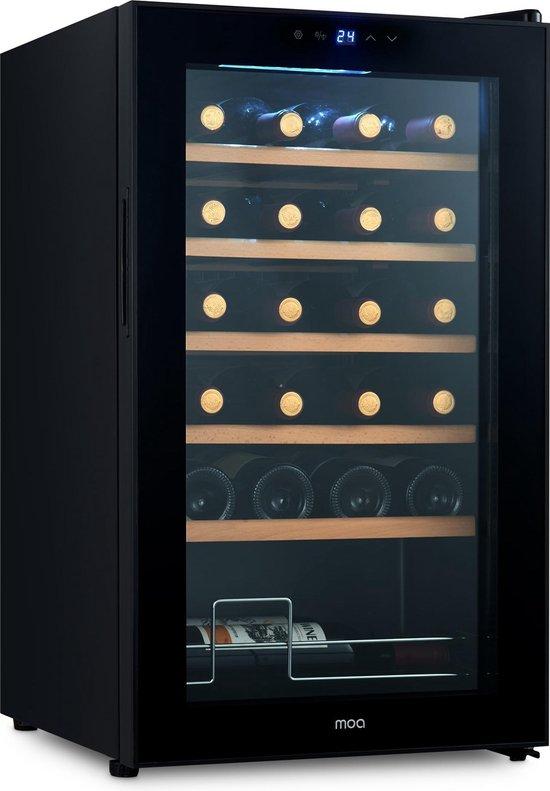 MOA WC70 - Wijnkoelkast met compressor - Wijnkoeler - 24 flessen