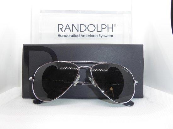 Randolph zonnebril, Concorde, chrome, skytec polarized, CR074