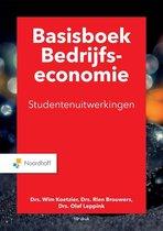 Boek cover Basisboek bedrijfseconomie uitwerkingen van M.P. Brouwers
