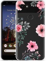 Google Pixel 3a XL Hoesje Flowers