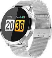 SmartWatch-Trends Q8 - Smartwatch - Zilver/Metaal