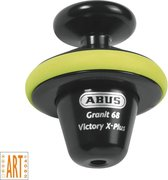 Abus Granit 68 Victory X-Plus Schijfremslot - Geel