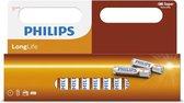 Philips longlife batterijen - 36-pack - AA - Penlite